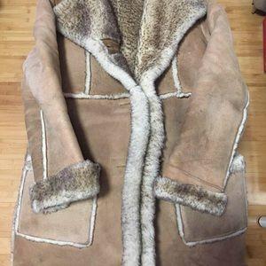 Ardney Suede Lamb Coat